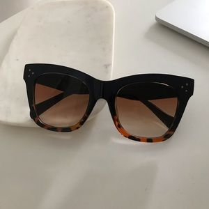 Catherine Cateye Leopard Sunglasses